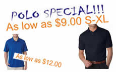 POLO SPECIAL As low as $9.00 Click for full details